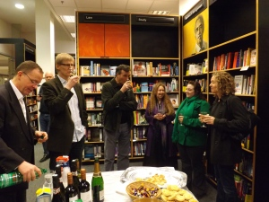 Richard Fenton & Tim Aridizzone with Paul Vernham, Pia Fenton, Rachel Skinner & Lyn Vernham